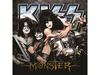 Kiss -Monster cd S/S 2012 Gene Simmons and Paul Stanley