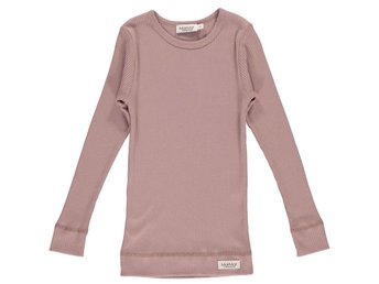 Plain Tee Long Sleeve Rose Nut - 152 (Rek pris: 209kr)