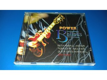 POWER BALLADS - poison,alien,b idol,dad,marillion,saxon,slaughter,u heep (cd)