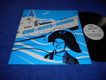 CBS Rock Cruise (LP) Uggla Europe Tone Norum mfl Rare EX/VG++