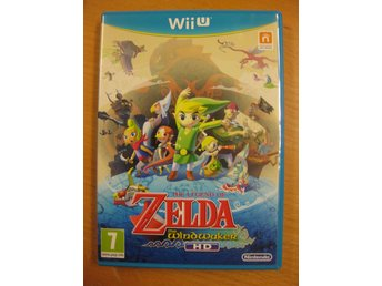 THE LEGEND OF ZELDA THE WINDWAKER HD  -  WII U SPEL I MYCKET BRA SKICK