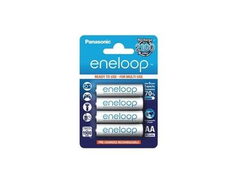 4-Pack AA HR6 Panasonic Eneloop Recharable Battery ON1312