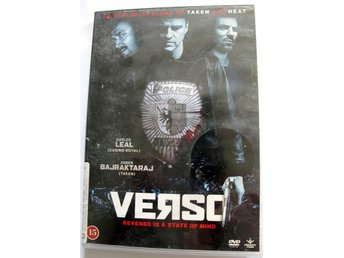 Verso An explosive blend of taken and heat    dvd