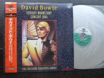 DAVID BOWIE - Serious moonlighht concert 1983 Laser disc VAP Japan -83