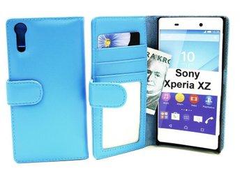 Plånboksfodral Sony Xperia XZ (F8331) (Ljusblå) - Tibro / Swish 0723000491 - Plånboksfodral Sony Xperia XZ (F8331) (Ljusblå) - Tibro / Swish 0723000491