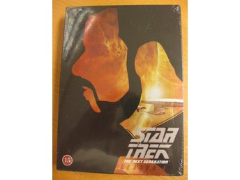 STAR TREK THE NEXT GENERATION - HELA SÄSONG 4   -  INPLASTAD DVD BOX