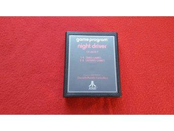 NIGHT DRIVER till Atari 2600 - Blomstermåla - NIGHT DRIVER till Atari 2600 - Blomstermåla