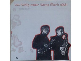 Lee Konitz Meets Warne Marsh title*  Lee Konitz Meets Warne Marsh Again* US LP