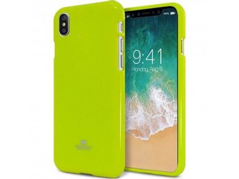 Mercury Jelly Case Apple iPhone X Färg: Lime