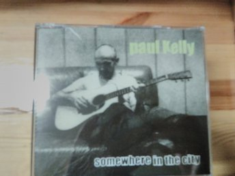Paul Kelly - Somewhere In The City, Promo, CD