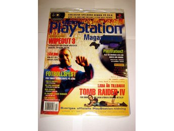 PLAYSTATION 22  NY  CD  10/1999  WIPEOUT 3   I ORIGINALPLAST