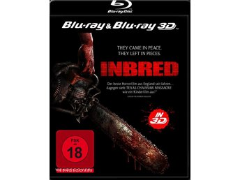 INBRED (2011) (3D & 2D BLURAY! UDDA) (UNCUT HORROR) Jo Hartley