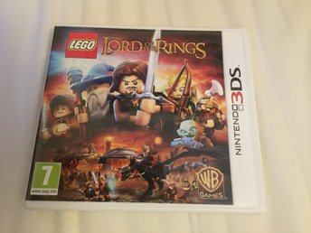 Sagan om ringen Lord of the rings LEGO Nintendo 3ds