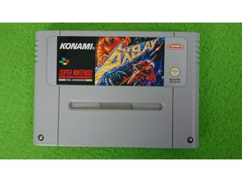 Axelay Super Nintendo Snes