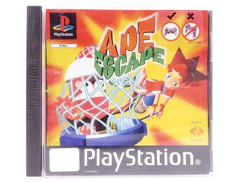 Ape Escape - PS1 - PAL (EU)