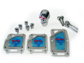 Skull Styling Set » - SILVER