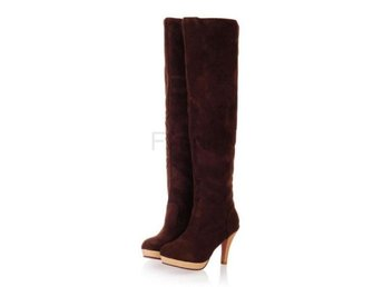 Dam Boots Warm Winter Boot Footwear Heels Shoes Brown 37