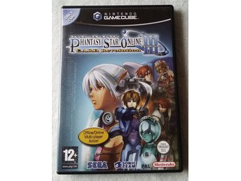 Phantasy Star Online Episode III (3) C.A.R.D. Revolution – NGC – CIB