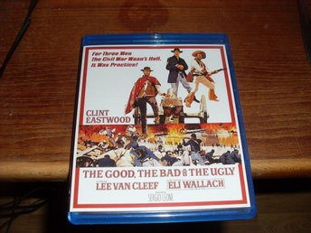 the good the bad and the ugly blu-ray region A usa 2 disc mint disc western