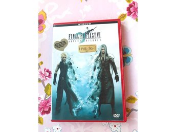 Final Fantasy.vll advent children dvd retro vintage