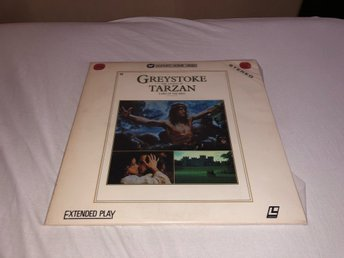 Greystoke the legend of Tarzan lord of the apes  - 2st Laserdisc