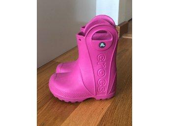 Crocs c6 regnstövlar 21 (421395788) ᐈ Köp på Tradera