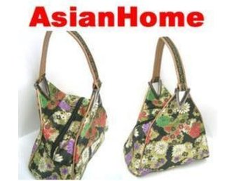 *AsianHome* NY! Japanska Embroided Satin Handväskor (b2)