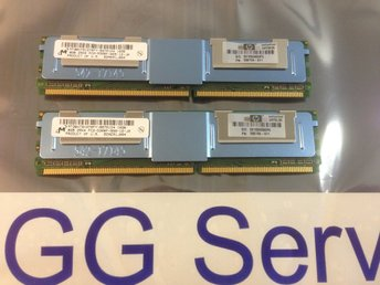 HP 16GB (2x8GB) Kit PC5300 FB-Dimm för tex Proliant DL360 DL380 G5