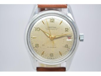 SUPER FIN VINTAGE CERTINA  AUTOMATIC 21 JEWELS .
