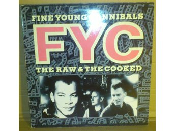 Fine Young Cannibals - The Raw & The Cooked (LP) Grekland utgåva