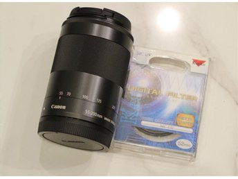 Canon EF-M 55-200mm IS STM + UV-filter