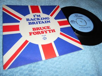 Bruce Forsyth - I'm Backing Britain (si) 1968 EX/EX