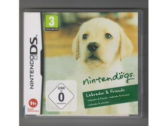 Nintendo DS spel Nintendogs Labrador & friends