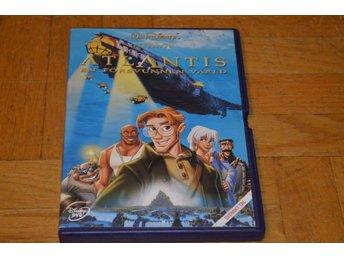 Atlantis - En Försvunnen Värld - Disney DVD - Töre - Atlantis - En Försvunnen Värld - Disney DVD - Töre