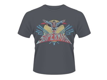 DC ORIGINALS SUPERMAN FLYING LOGO T-Shirt - Small