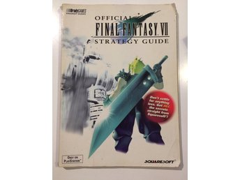 - FINAL FANTASY 7 - OFFICIELL GUIDE - PSone -