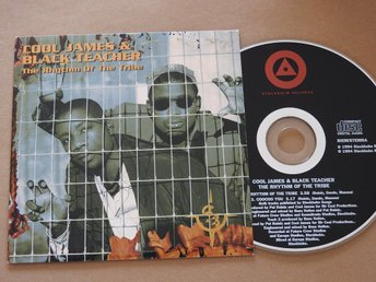Cool James & Black Teacher ?– The Rhythm Of The Tribe CD Single 1994