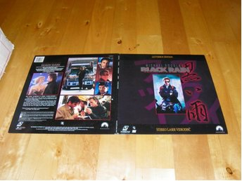 Black rain - Widescreen edition - 2st Laserdisc