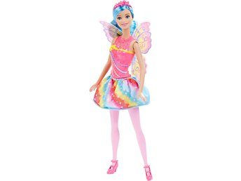 Barbie Dreamtopia Fairy Rainbow Fashion Doll Docka 30cm
