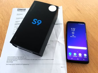 Samsung Galaxy S9 Olåst Svart midnight black