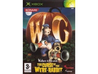 XBOX - Wallace & Gromit: The Curse of the Were-Rabbit (Ej bok) (Beg)