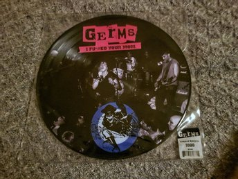 Germs - I F*#ed You Mom - Live '78 - '79 LP picture disc bildvinyl bild-lp