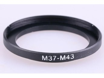 Step Up Ring 37 - 43 mm