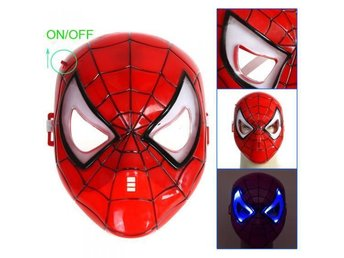 Spiderman Mask LED-ljus