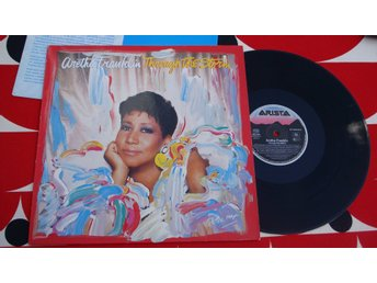 ARETHA FRANKLIN - THROUGH THE STORM LP 1989
