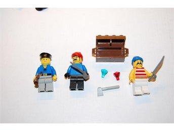 Lego nr 29, skattkista, pirater gubbar, lego figurer nr 3 - Växjö - Lego nr 29, skattkista, pirater gubbar, lego figurer nr 3 - Växjö