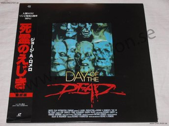 DAY OF THE DEAD - GEORGE ROMERO JAPAN LD