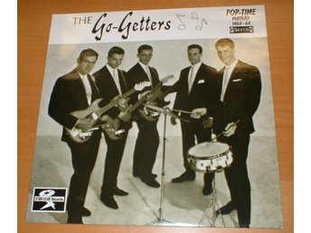 THE GO-GETTERS LP Pop-time Pigtråd 1962-63 1991