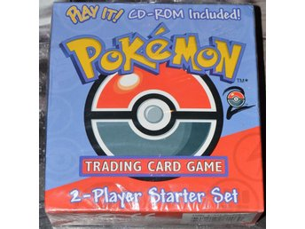 Pokemon 2 player starter set m/Machamp Holo card + cd Förseglad / Sealed