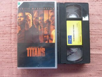REMEMBER THE TITANS,  VHS, FILM